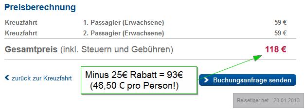 Minikreuzfahrt-Kiel-Oslo-Angebot Maerz 2013