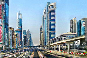 Dubai, Arabische Emirate, Sheikh Zayed Road