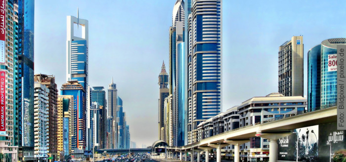 Dubai, Arabische Emirate, Sheikh Zayed Road