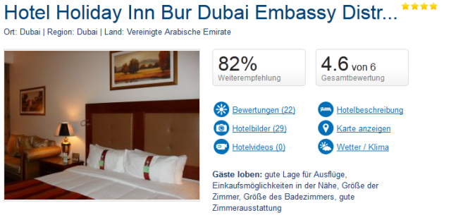 Dubai Hotel Bur Dubai Holiday Inn
