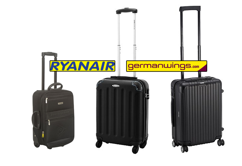perfekter handgep ck koffer ab 8 99 billig flieger trolley ryanair reisetiger. Black Bedroom Furniture Sets. Home Design Ideas