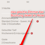 Preis bei Buchung direkt im Moevenpick Hotel