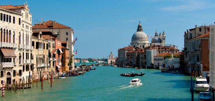 Venedig Italien Canale Grande Boot