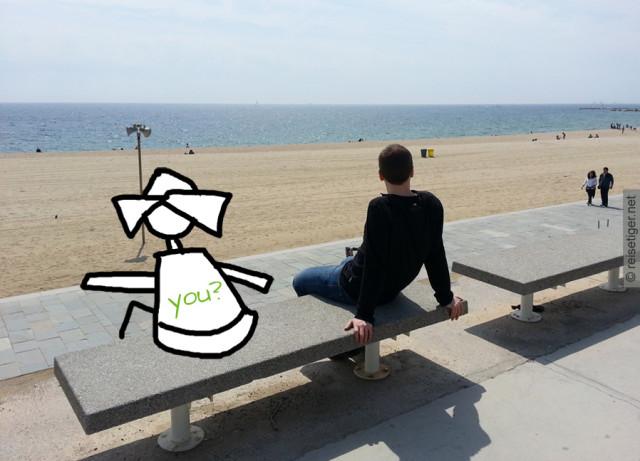 Gemeinsam verreisen am Strand