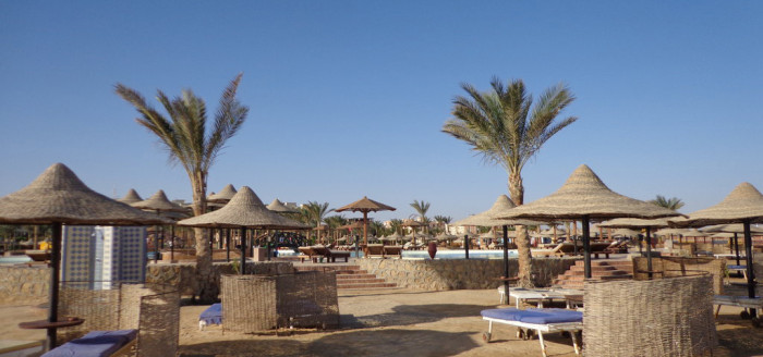 Hotel Festival Riviera Resort Hurghada Strand