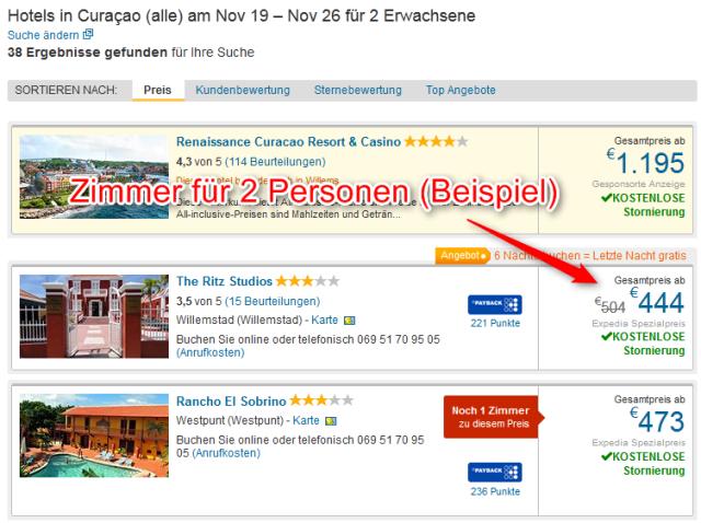 Unterkunft Curacao Preiswert
