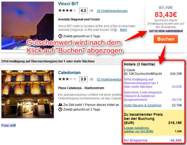 Ebookers-Gutscheincode-Hotelpreis