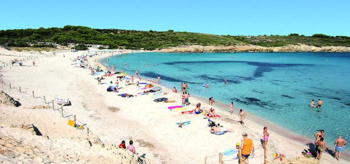 Menorca Playa Parc Strand