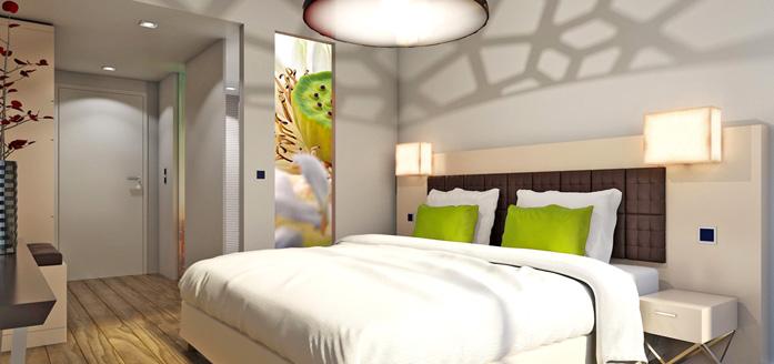 Hotel Vier Jahreszeiten Berlin City Bett