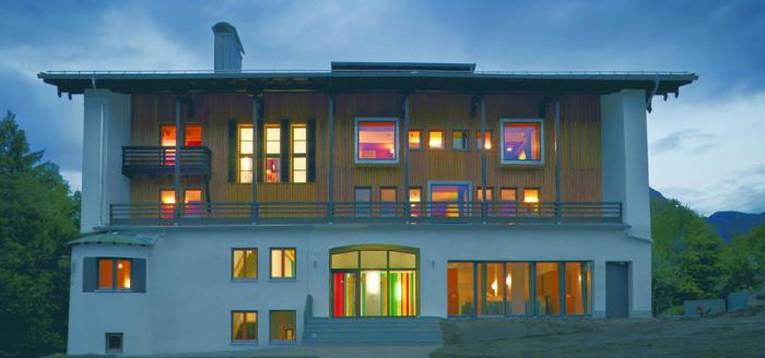 Jugendherberge Design Berchtesgaden
