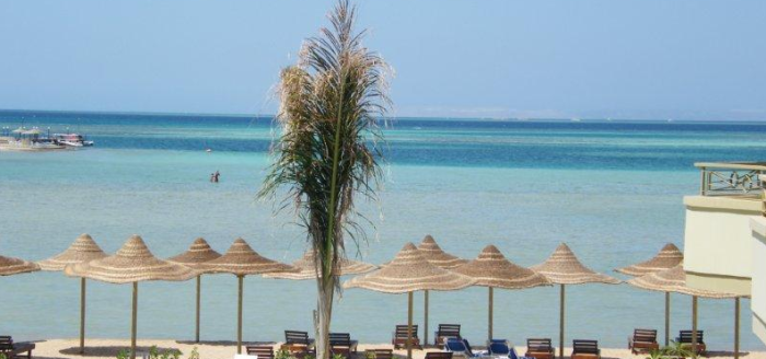 Magic Beach Hotel Hurghada Strand