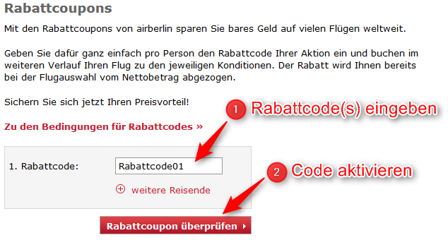 air berlin rabattcode