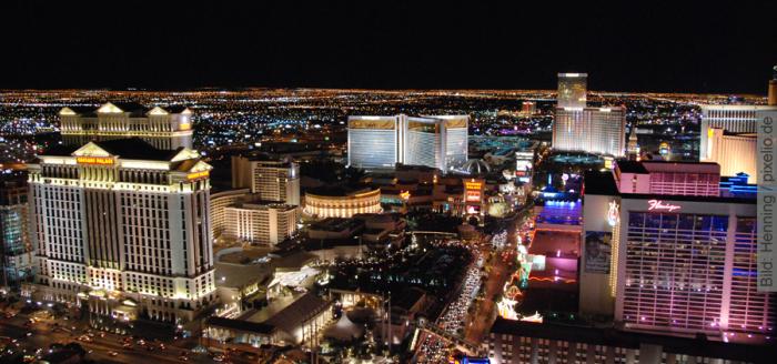Las-Vegas-Skyline-bei-Nacht