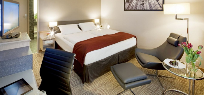 Moevenpick Hotel s-Hertogenbosch Doppelzimmer