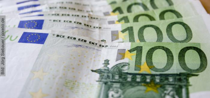 100-euro-Geldscheine