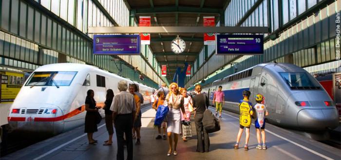 Bahn Pauschalreise mit ICE