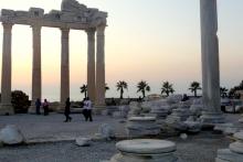 Apollon-Tempel in Side