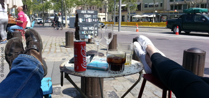 Barcelona-Caffee-am-Stadtzentrum