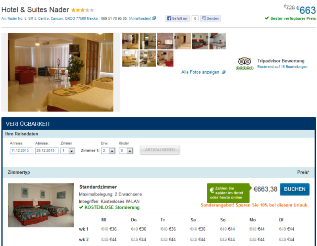cancun - hotel nader - expedia