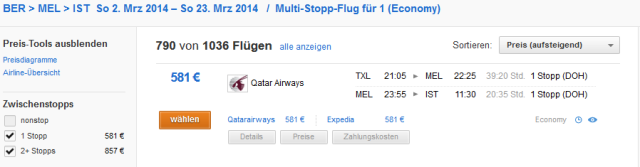 melbourne-berlin-flug-qatar