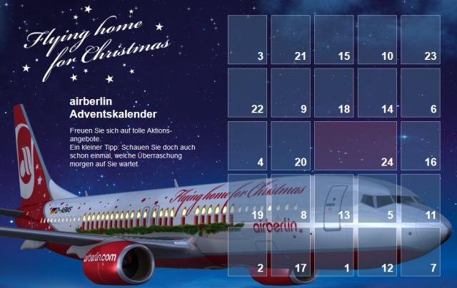 Airberlin-Adventskalender-2013-uebersicht