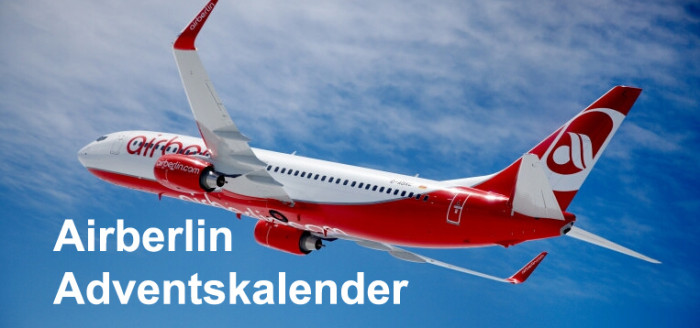 Airberlin-Adventskalender