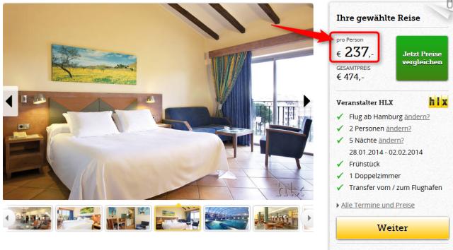 Hotel Barcelo Pueblo Park Angebot Januar Februar Mallorca