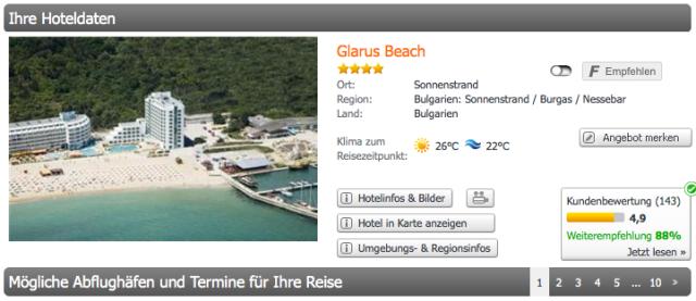 Hotel_Bulgarien_Glarus_Beach_weg.de