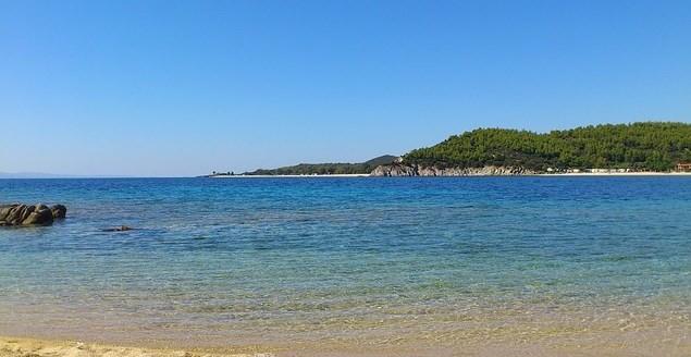 Chalkidiki-Griechenland-Strand-Sand-Meer
