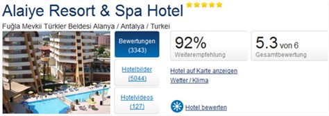 Holidaycheck Alanya Alaiye Resort