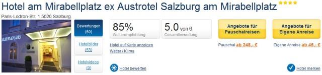 Holidaycheck Salzburg Hotel am Mirabellplatz