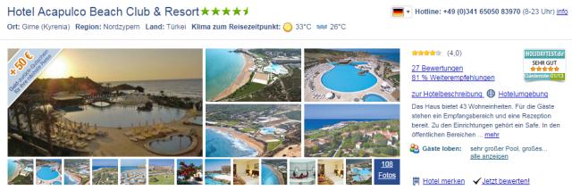 Hotel-Nordzypern-November