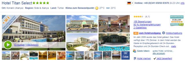 Hotel-Tuerkei-November