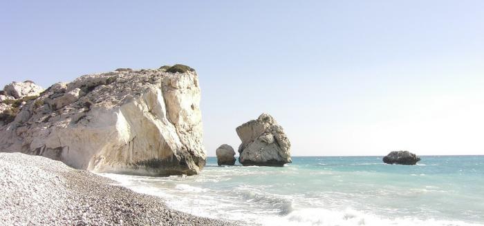 Zypern-Strand-Bucht