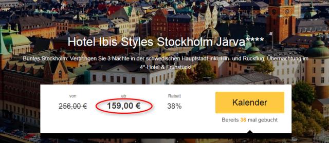 Stockholm-Angebot