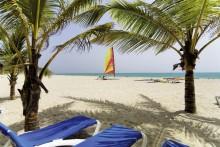 Expedia DomRep Viva Wyndham Tangerine Strand Palmen Liegen Meer