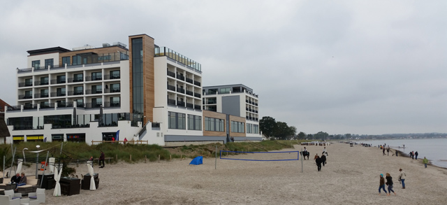 Hotel direkt am Strand Ostsee