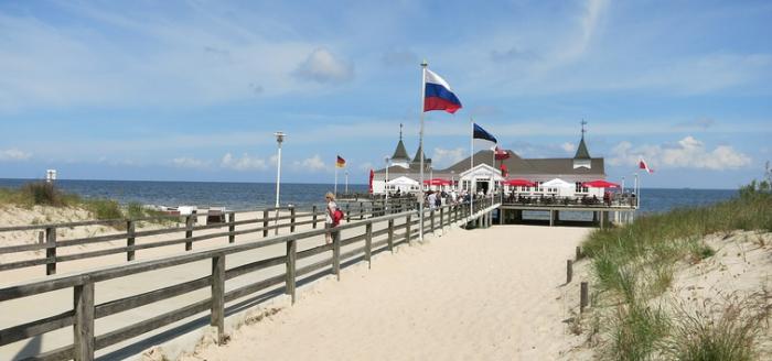 Usedom-Strand-Seebruecke