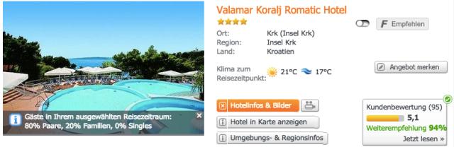 Hotel-Kroatien-Mai