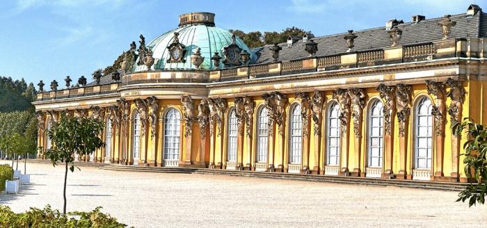 Potsdam-Schloss-Sanssouci