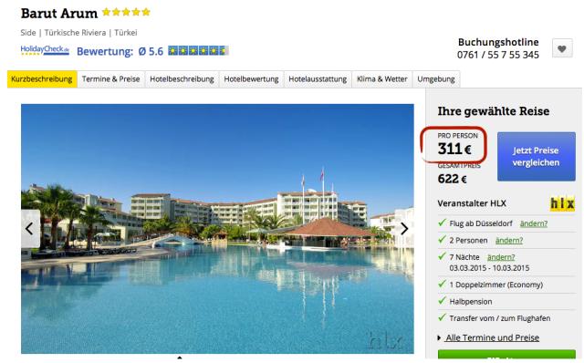 HLX_Tuerkei_Side_Barut_Arum_Hotel