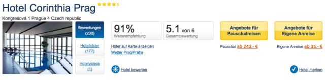 HolidayCheck_Hotel_Corinthia_Prag_Weiterempfehlung