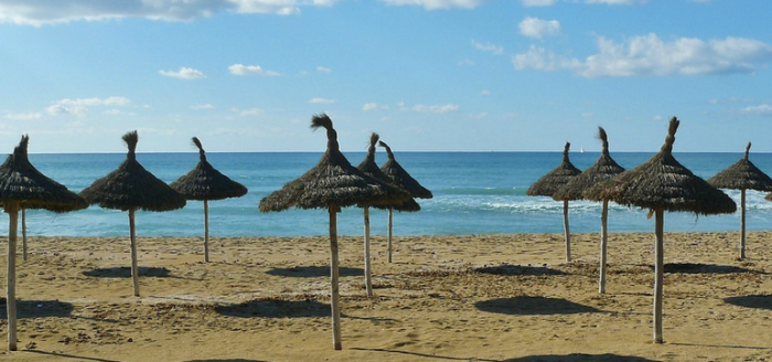 Spanien-Strand