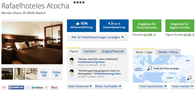 HolidayCheck_Rafaelhoteles_Atocha