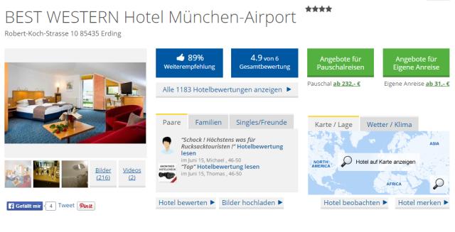BestWestern München Airport