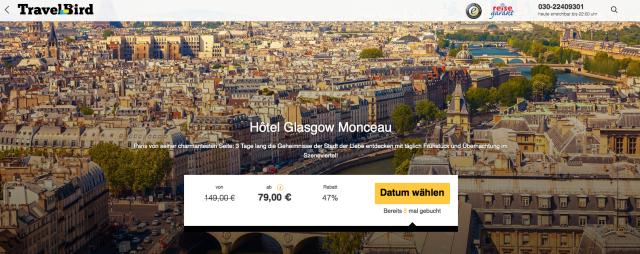 Travelbird_de_Paris_Hotel_Glasgow_Monceau
