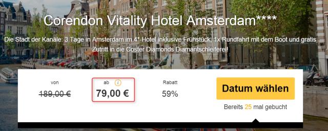 travelbird_amsterdam_corendonvitality_preis