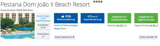 HolidayCheck_Algarve_Beach Resort Pestana Dom Joao II