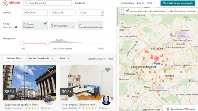 airbnb_Paris_Unterkuenfte
