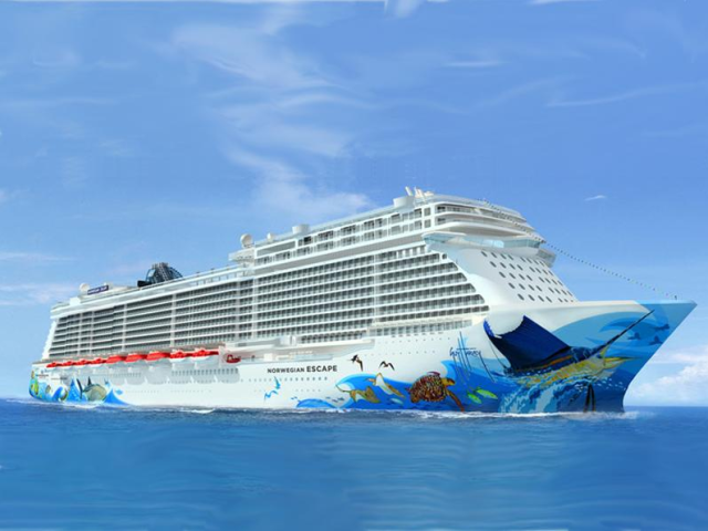 Aussenansicht Norwegian Escape ehoi